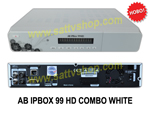 AB IPBox 99 HD PVR COMBO WHITE