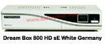Dream Box 800 HD sE WHITE GERMANY
