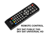 Original remote Control for terrestrial Sky Sat recievers