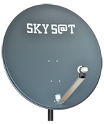 SATELLITE ANTENNA SKY SAT 120 sm. (ANTHRACITE)
