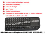 Wireless Mini Keyboard SkySat WMKB-2011