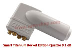Smart Titanium Rocket Edition Quattro 0.1 dB